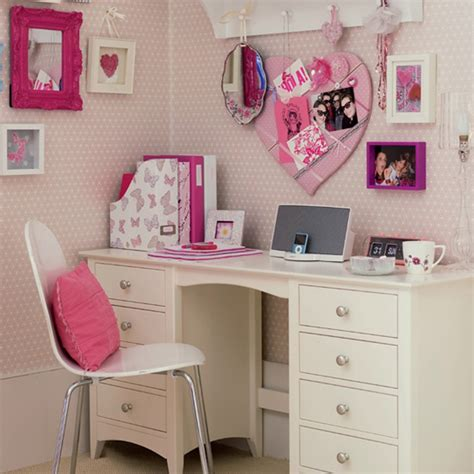 girls bedroom desk bedroom beautiful white computer desk and chair for teenage girls with white and pink