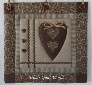 ulla s quilt world wall hanging quilt and bird
