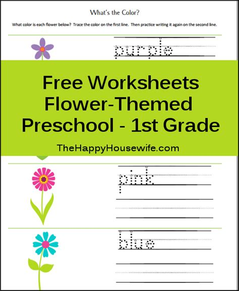 free printable worksheets flowers free printable friday flower worksheets the happy
