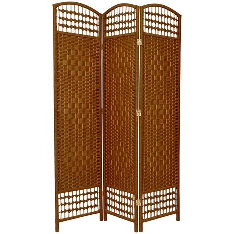 6 ft beige 3 panel room divider fb dmnd dbg 3p the