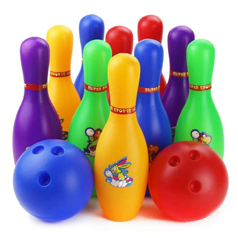 Children Plastic Bowling Toys 17 Cm popular large bowling pins buy cheap large bowling pins lots from china large bowling pins