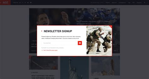 design journal blog age material design magazine blog psd template by