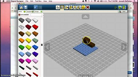 tutorial lego digital designer lego digital designer basic tutorial