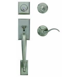 Lowes Front Door Locks Gatehouse Sm Amanda Commercial Residential Single Lock Door Handleset Lowe S Canada