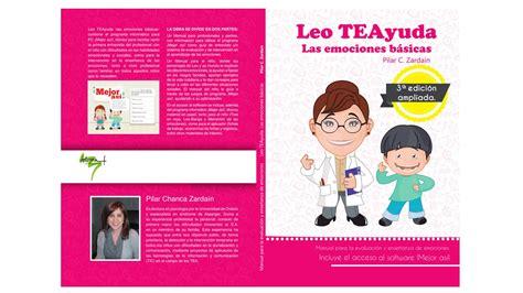 libro leo leo portada del libro leo teayuda