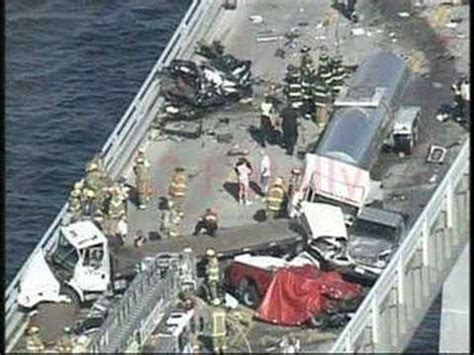 boat rs near skyway bridge bay bridge tragedy youtube