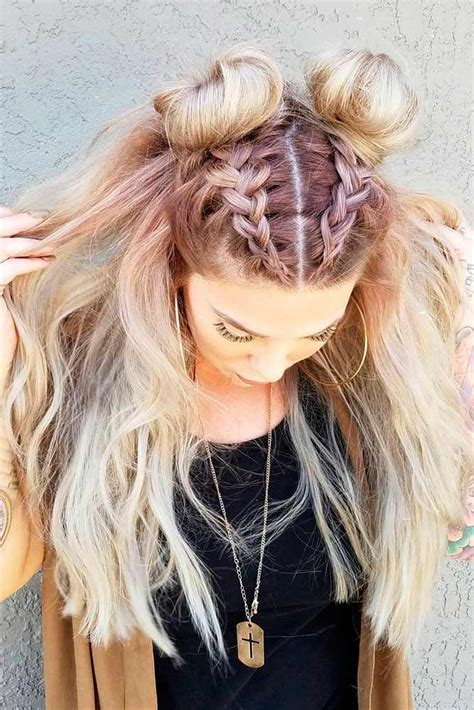 top knot hairstyle best 20 knot hairstyles ideas on pinterest heart hair