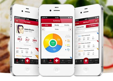 mobile application design mobile app designs featuring counters and graphs
