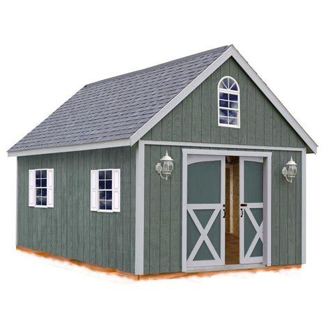 barns belmont  ft   ft wood storage shed kit