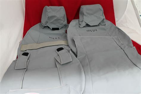 Toyota Seat Covers Hilux Toyota Hilux Seat Covers Front Canvas Sr Sr5 2wd July 11
