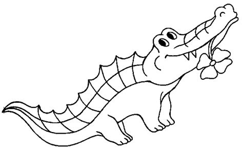 Cartoon Reptiles Crocodile Coloring Pages For Kids F2j Reptiles Coloring Pages