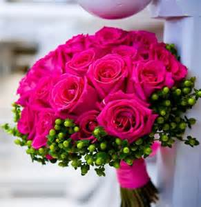 Pretty Pink Flowers - pink rose bouquet