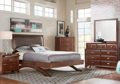 bedroom sets dawson cherry queen size platform look shop for a belcourt cherry 5 pc queen platform bedroom at