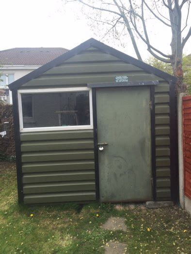 Clane Sheds by Clane Steel Garden Shed For Sale In Lucan Dublin From Thefoz