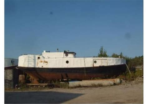 boat hulls for sale 1933 48 ft steel commercial fishing vessel steel hull