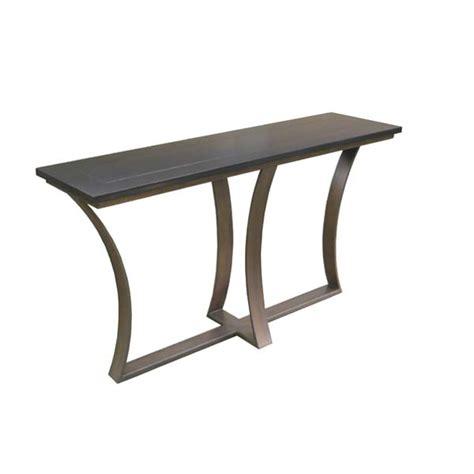 iron sofa table base 101860 iron base console table wood top