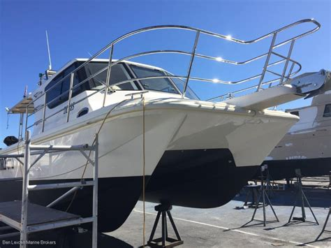 cat boats for sale wa custom 33 cat power boats boats online for sale