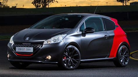 peugeot 208 gti 2016 2016 peugeot 208 gti 30th anniversary review road test