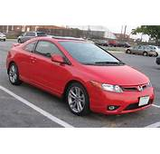International Fast Cars Honda Civic Coupe Red
