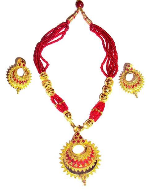 Handmade Indian Jewellery - handmade indian assamese jewellery keru shopping