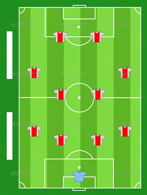 soccer team positions template 187 tinkytyler org stock
