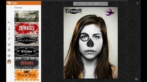 youtube imagenes halloween edita tus fotos para halloween tutorial youtube