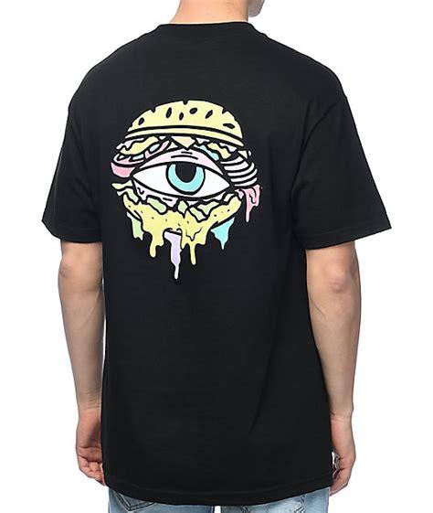 Pdp T Shirt trippy burger logo black t shirt at zumiez pdp