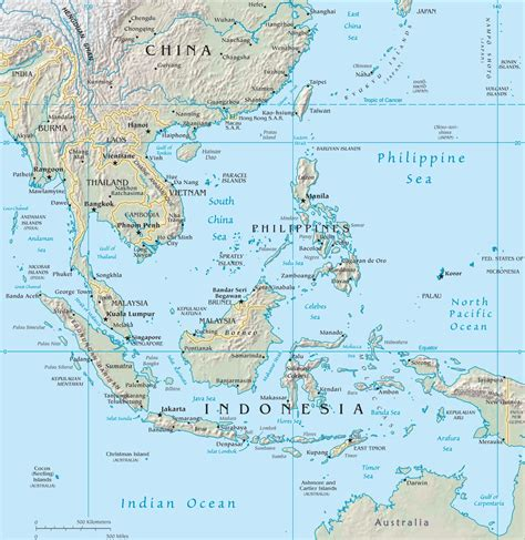 southeast asia map southeast asia maps