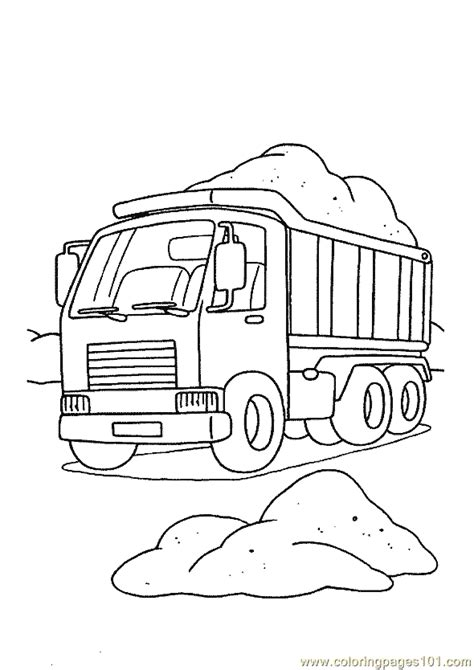 free coloring pages of tonka