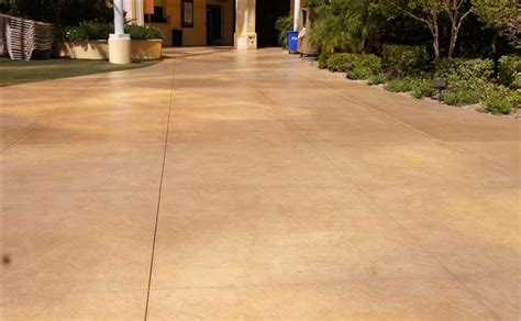 How To Clean Colored Concrete Patio by Solomon Colors