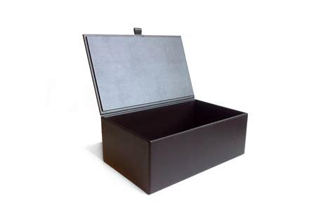 shoe boxes leather shoe box
