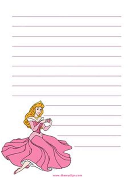 princess writing paper pen pals on free printable stationery