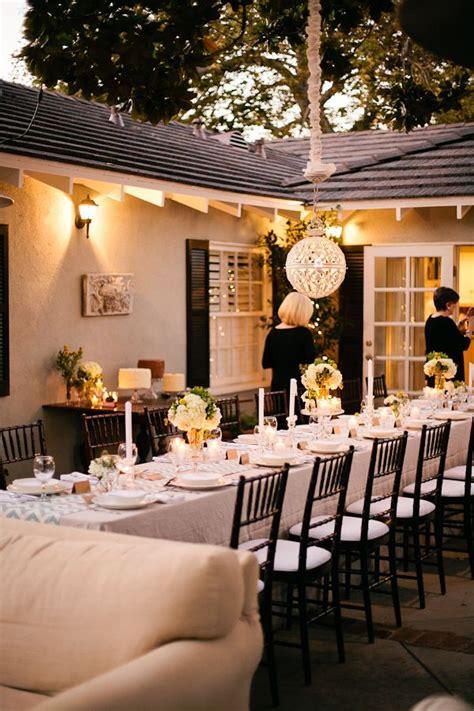 backyard wedding party 30 stunning wedding reception ideas