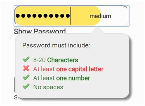 pattern password jquery capital letter checker docoments ojazlink