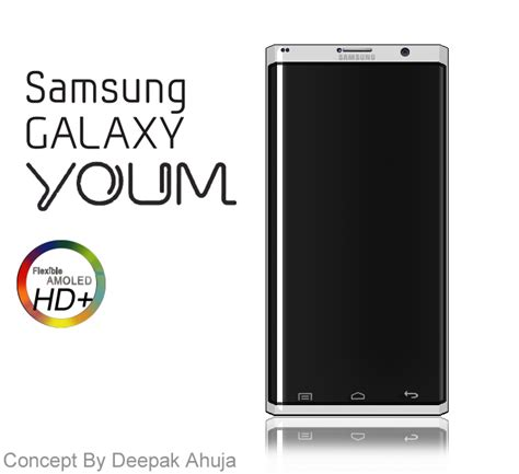 samsung galaxy youm display phone gets rendered specced concept phones