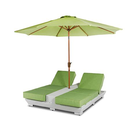 outdoor lounge chairs with umbrella gemini two lounge chairs w built in base and umbrella