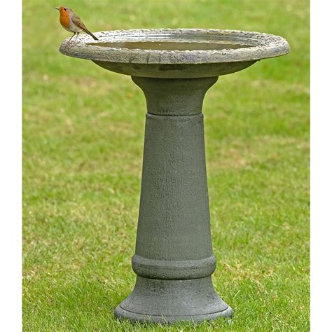 coniston bird bath stand rspb wild bird care rspb shop