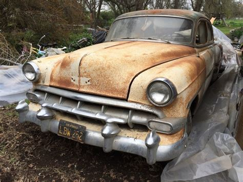 Air Finder 1954 Chevy Bel Air 4dr Barn Find For Sale