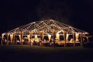 wedding tent lighting glendalough manor bride