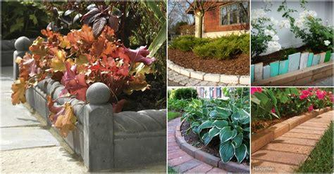 diy garden edging ideas  bring style  beauty