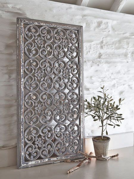 See Saw Wall Flats Add Texture To Your Walls by These Beautiful Rectangular Grey Carved Wooden Wall Panels