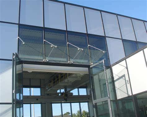 Glass Awning Crl Architectural Metals Awnings And Canopies