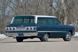 Chevrolet Wagon For Sale 1963 Chevrolet Impala 409 Wagon Bring A Trailer