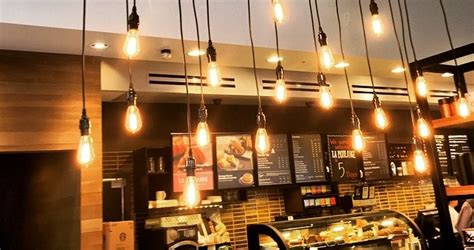 coffee shop lighting guide edison bulbs vs led is vintage in and high tech out 171 pads desktop pcb design