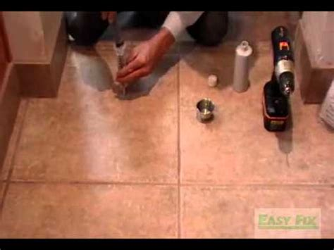 how to fix a large in a hollow door how to fix hollow tile floors don t remove or