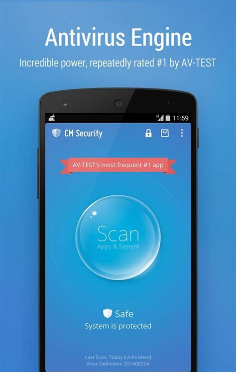 cm security android cm security antivirus applock android apps on play