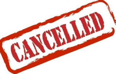 cancellation letter due to bad weather today s senior cancelled st football club