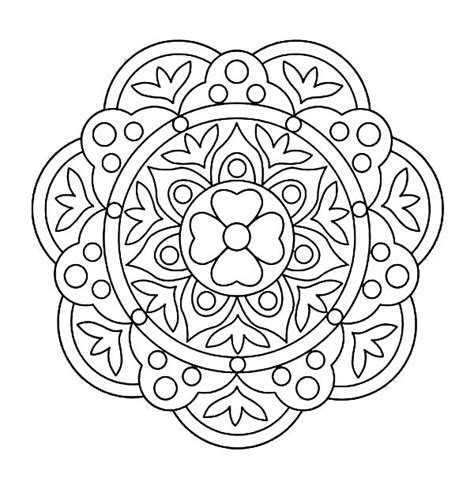 Floor Coloring Page