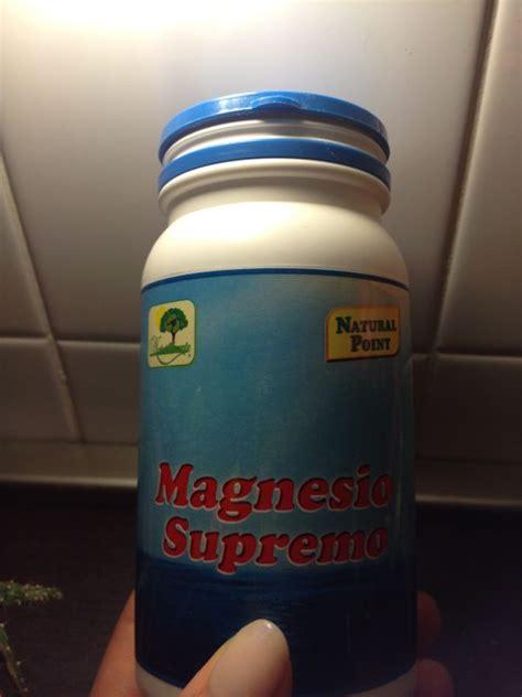 magnesio supremo come assumerlo il magnesio i murr