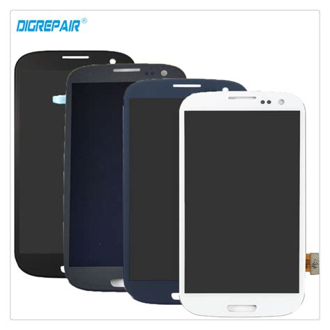 Lcd Advan S3 Tested 100 test black white blue grey for samsung galaxy s3 i9300 lcd display digitizer touch screen